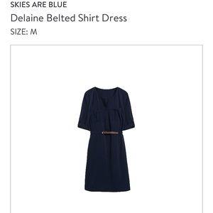 Skies Are Blue Dresses - 3/4 length dress